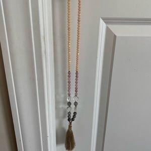 Anthropologie tassel necklace